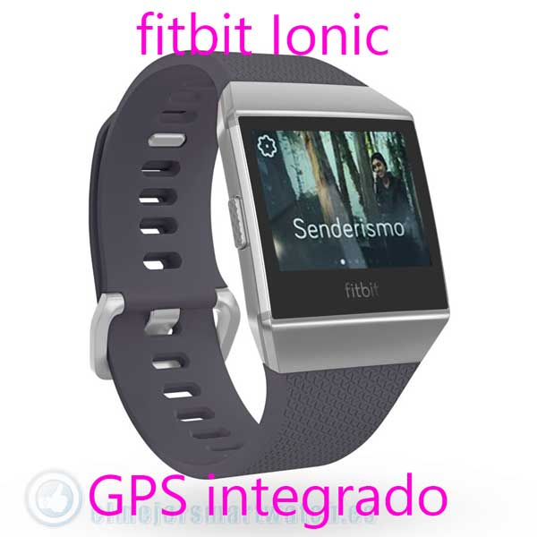 Fitbit Ionic con GPS
