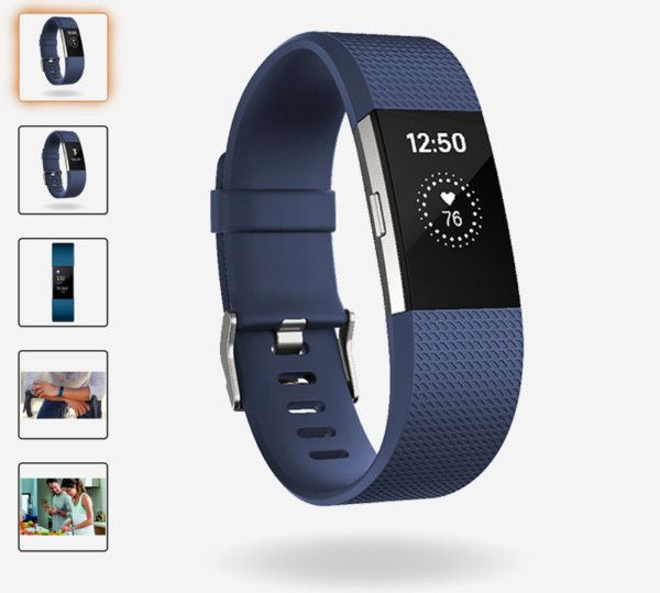 fitbit charge 2 azul