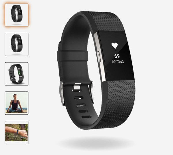 fitbit charge 2 negra