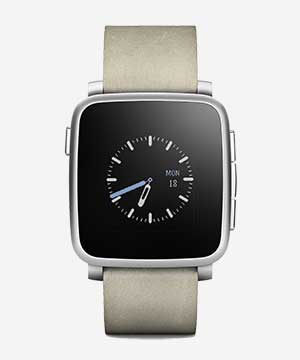 Pebble Time con iPhone