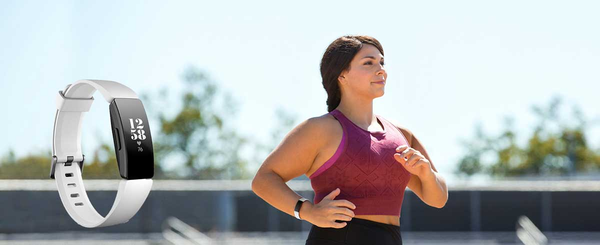 Fitbit Inspire HR para mujer